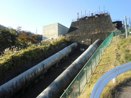 山北発電所・水圧鉄管
