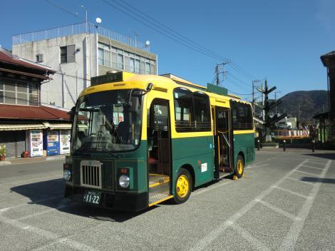 山北町のレトロバス