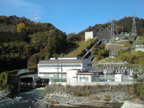 東京電力山北発電所全景