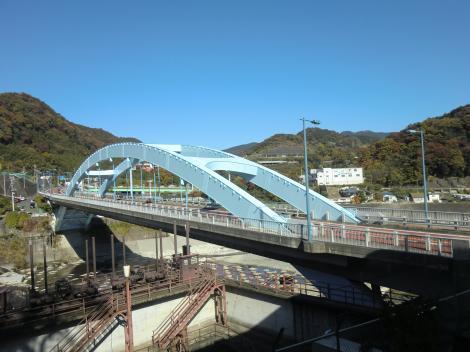 酒匂川に架かる足柄橋