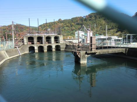 山内発電所導水路