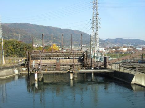 内山発電所上池・調整池