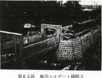 第6工区鳩川コルゲート横断工