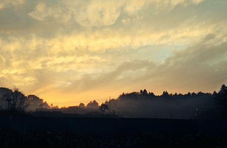 秋の夕日2-3