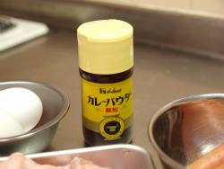 カレー風味鶏ももウインナー巻03