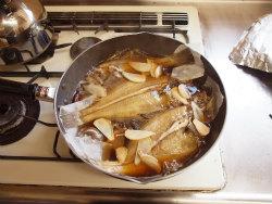 水カレイ煮付け10