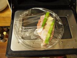 蒸し鶏サラダ02