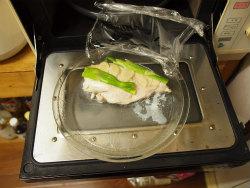 蒸し鶏サラダ03