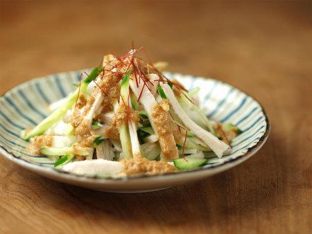 蒸し鶏サラダ13