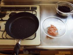 鶏むね肉とひじきの煮物11
