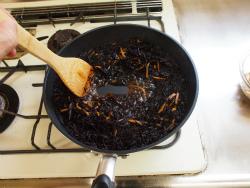 鶏むね肉とひじきの煮物19
