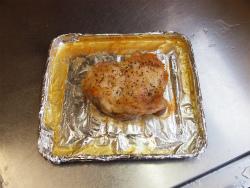 トースター鶏の塩焼き07