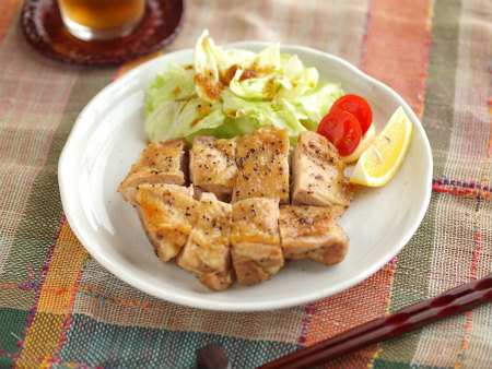 トースター鶏の塩焼き17