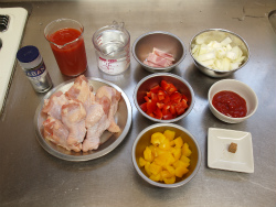手羽元のトマト煮04
