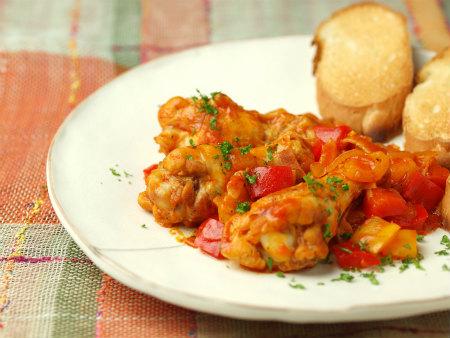 手羽元のトマト煮22