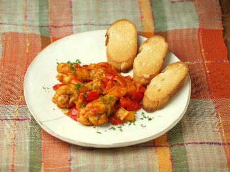 手羽元のトマト煮21