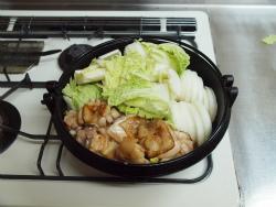 鶏すき焼き14