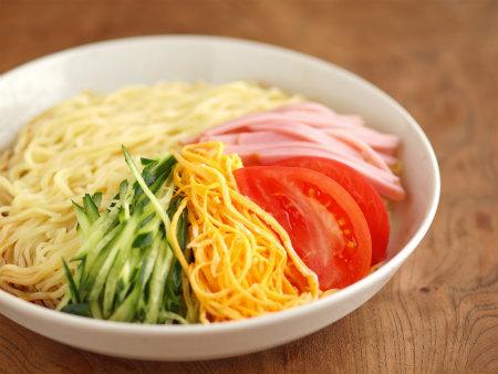 正麺冷やし中華10