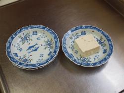 豆腐ハンバーグの春彩餡かけ01