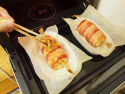 マンガ肉ベーコン巻き21