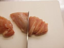 鶏むね肉のパセリバターソテー02