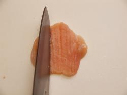 鶏むね肉のパセリバターソテー04