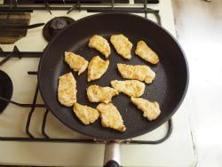 鶏むね肉のパセリバターソテー05