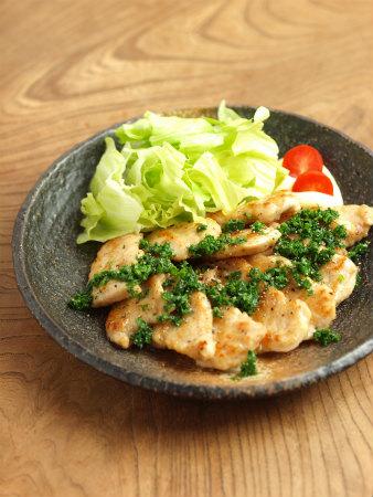 鶏むね肉のパセリバターソテー16
