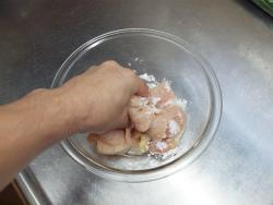 鶏むね肉冷やし中華05