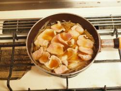 豚柳川丼08