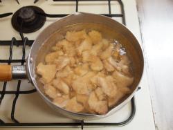 鶏むね肉とキムチの冷やし中04