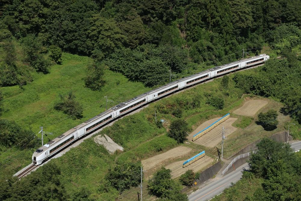 651系下り電車 2014 9/23