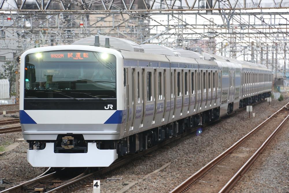 E531系 K423編成 2014 10/1