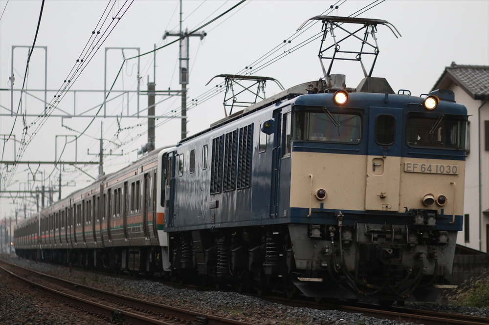 EF641030+211系 A51編成+A52編成 2014 10/21