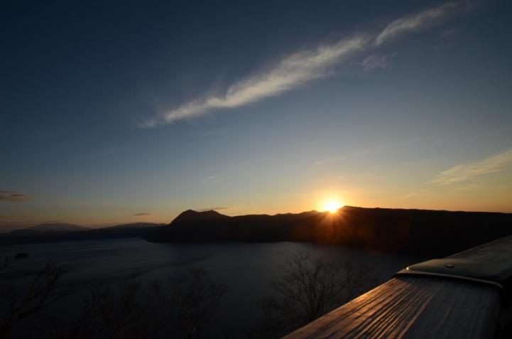 摩周湖  夜明け