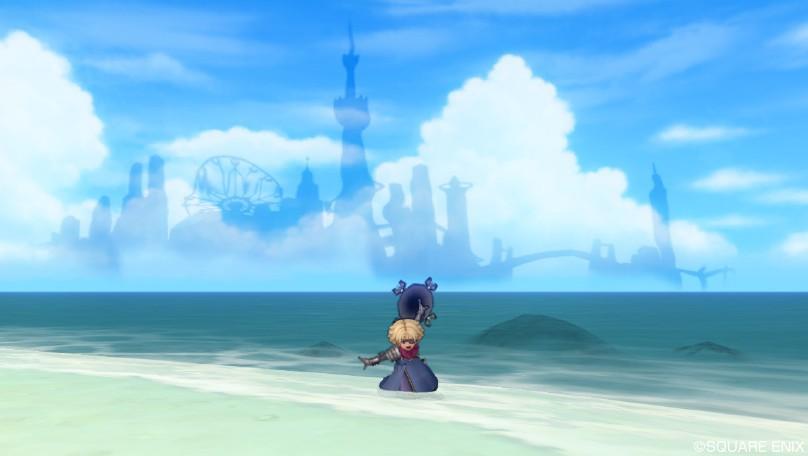海上にそびえる夢幻郷2