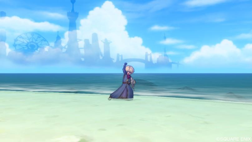海上にそびえる夢幻郷1