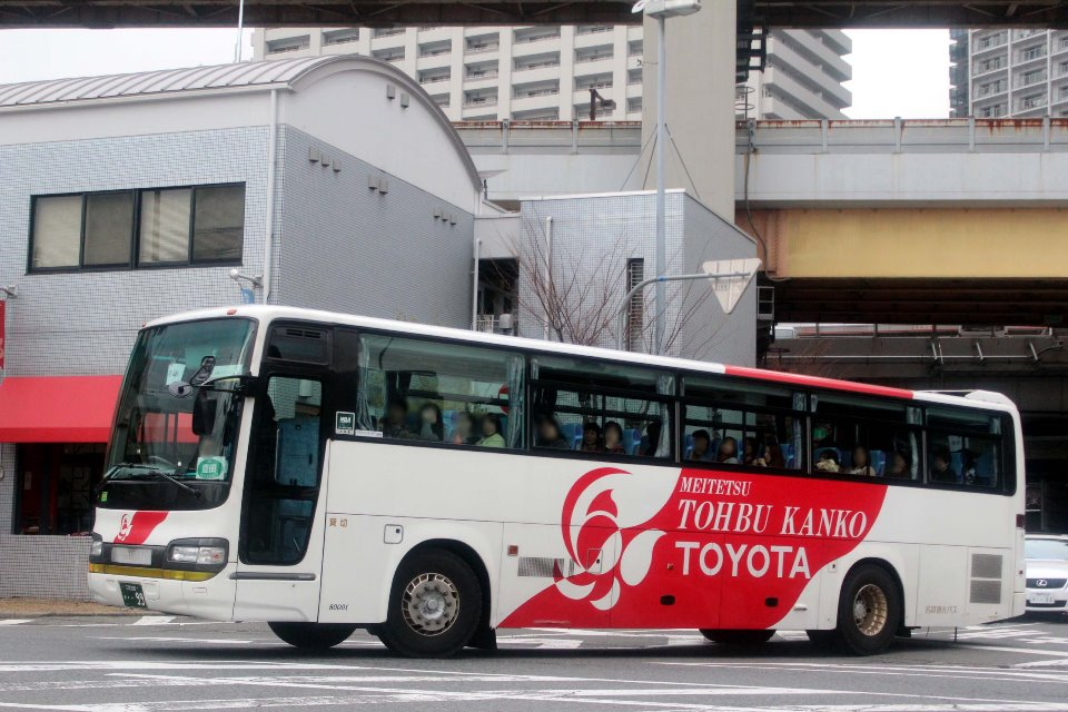 名鉄観光バス 80001