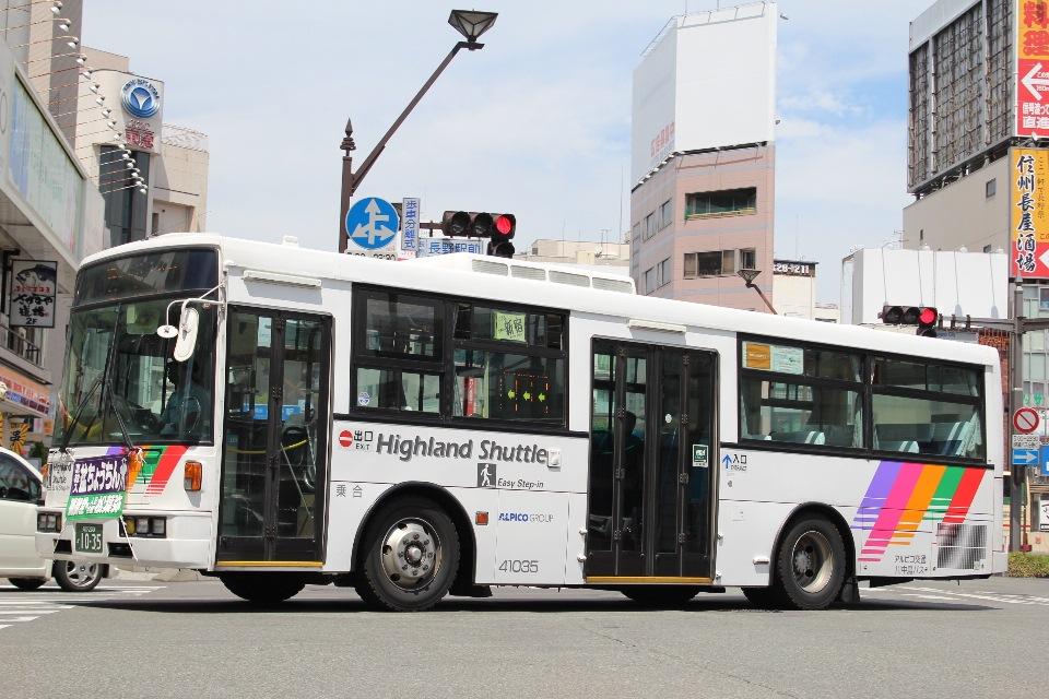 川中島バス 41035