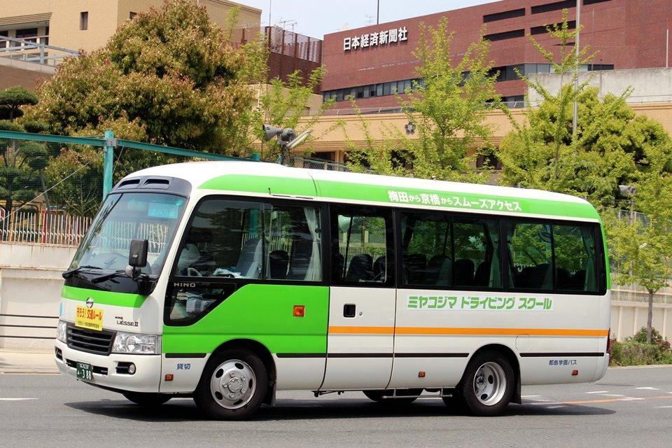 都島学園バス あ388