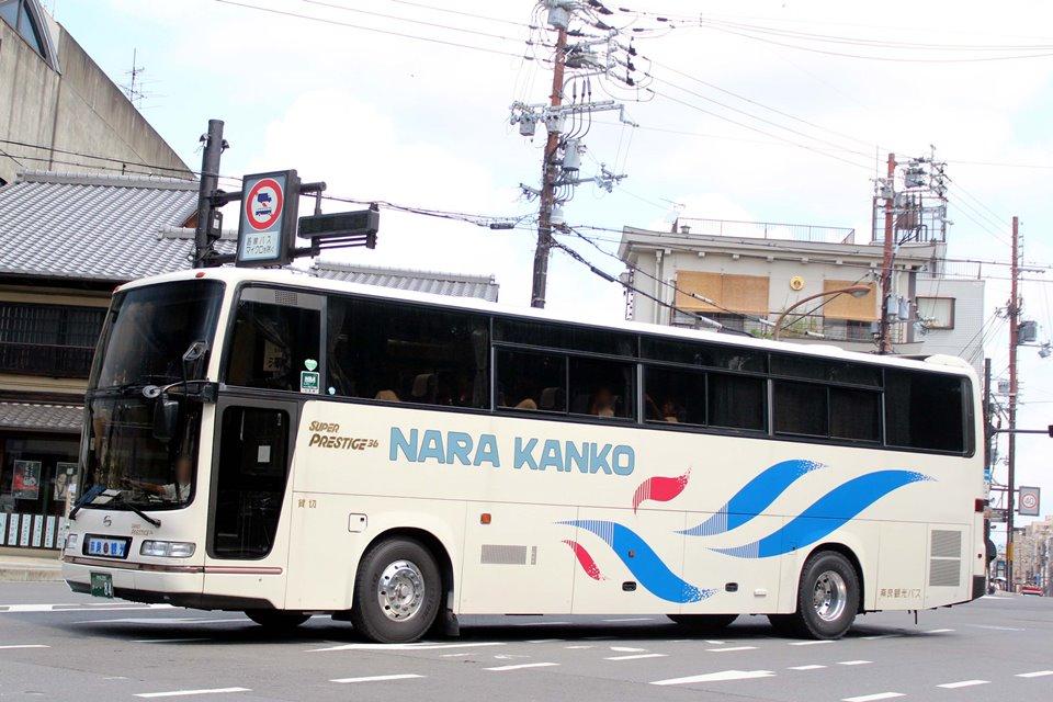 奈良観光バス か84