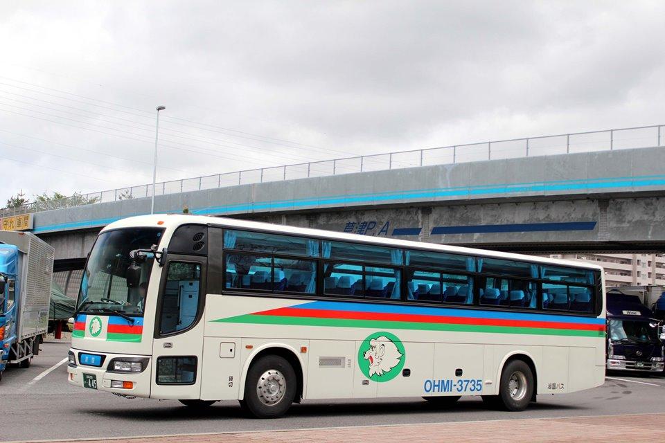 湖国バス 3735