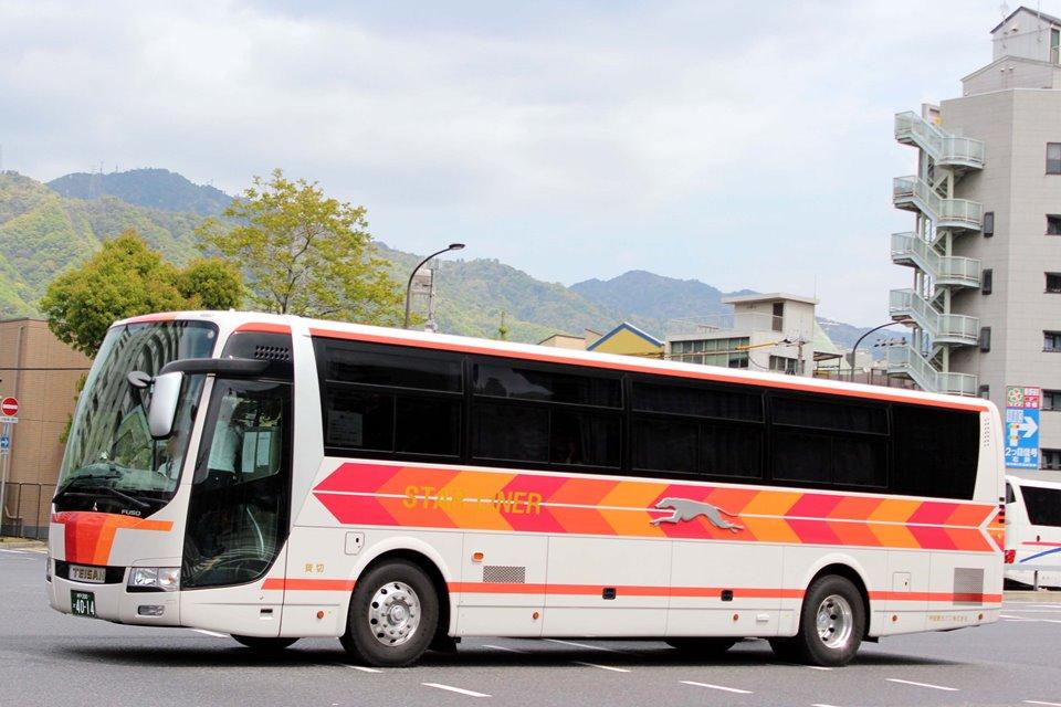 帝産観光バス か4014