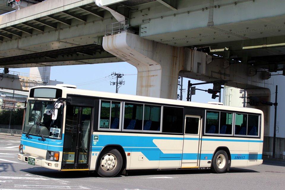 北港観光バス か1737
