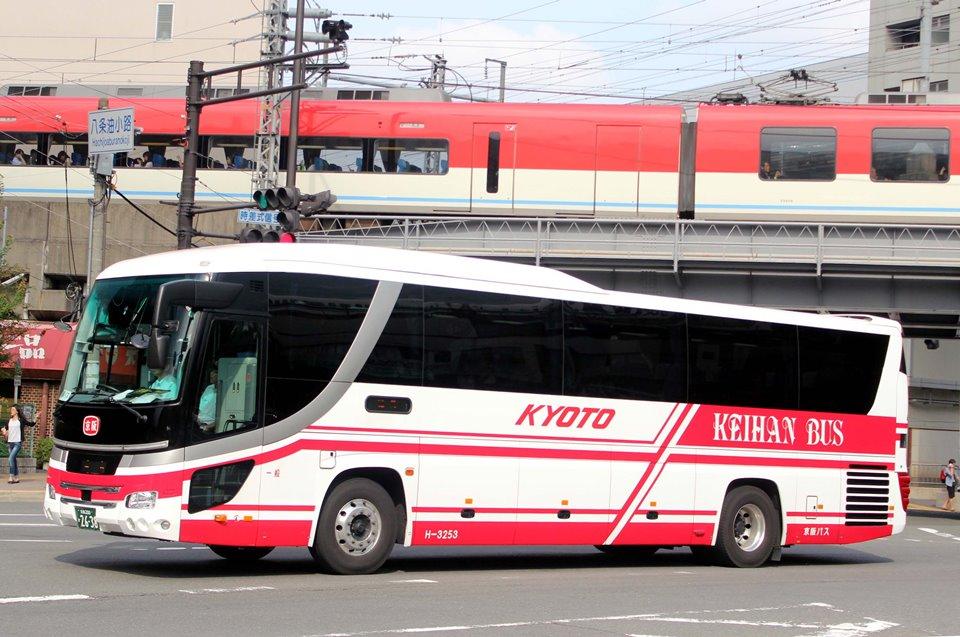 京阪バス H-3253