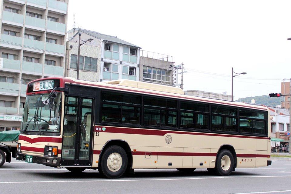 京都バス 55
