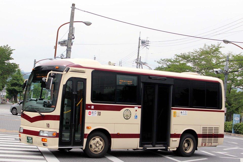 京都バス 10