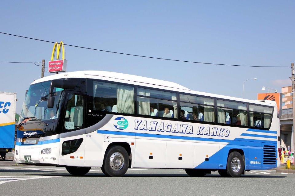 柳川観光バス か981
