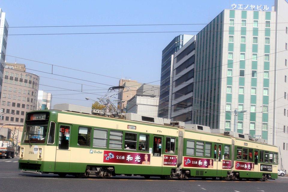 広島電鉄 3701F
