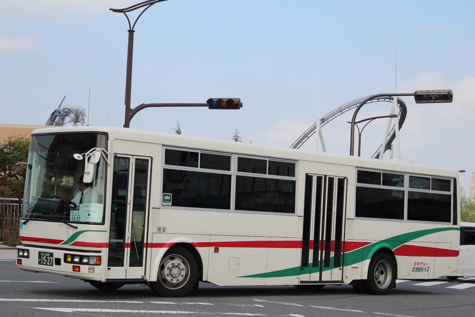 北港観光バス か1527